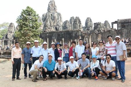 Vietravel tổ chức Famtrip khảo sát cung đường mới: Buôn Ma Thuột - Cửa Khẩu Buprang - Siem Reap - Phnom Penh