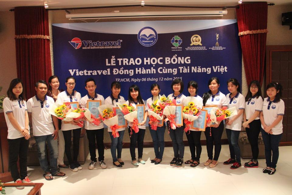Học bổng Vietravel đồng hành cùng tài năng Việt Lần V - 2017