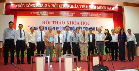 Vietravel tài trợ hội thảo khoa học 'Cung điện Đan Dương thời Tây Sơn tại Huế'