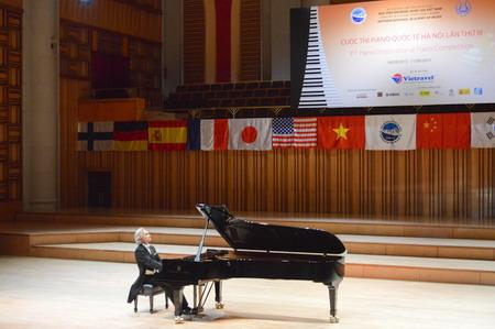 Khai mạc Cuộc thi Piano Quốc tế Hà Nội lần III - Vietravel là nhà tài trợ chính