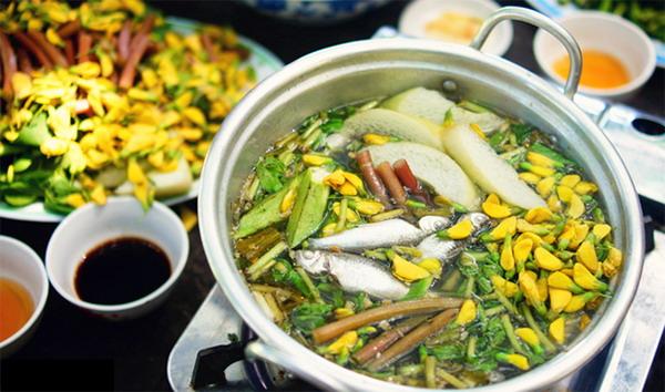 Mùa nước nổi nhớ… món ăn quê