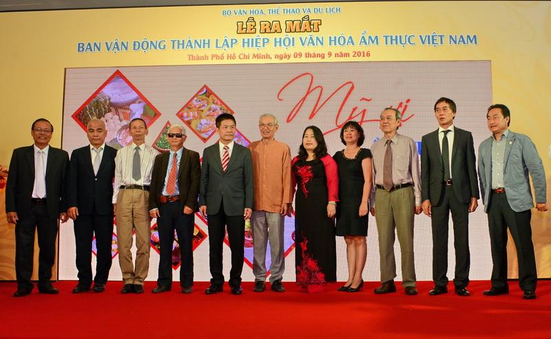 Lễ ra mắt Ban vận động thành lập Hiệp hội Văn hóa Ẩm thực Việt Nam