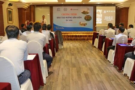 Vietravel Đà Nẵng phối hợp UNESCO và ILO mở khóa đào đạo hướng dẫn viên di sản Huế - Hội An - Mỹ Sơn