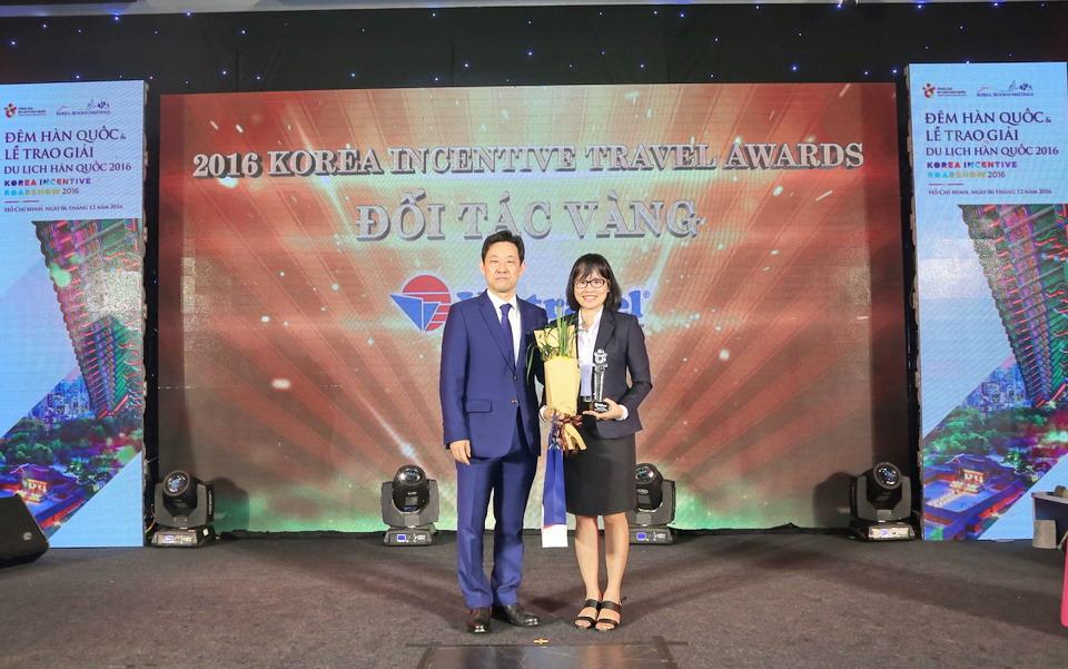 Vietravel tự hào 4 năm liền đạt giải thưởng uy tín từ Tổng cục Du lịch Hàn Quốc (KTO)