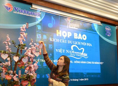 """Vietravel Hà Nội đồng hành cùng chiến dịch """"Người Việt Nam đi du lịch Việt Nam"""""""