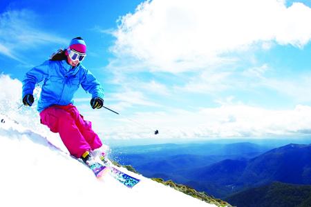 Trượt tuyết ngày hè ở Australia