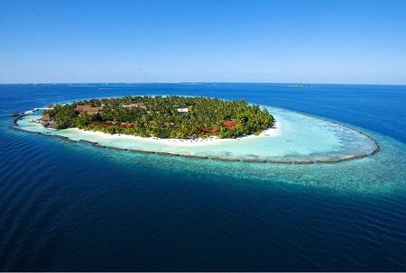 Biển xanh maldives - giải nhiệt ngày hè