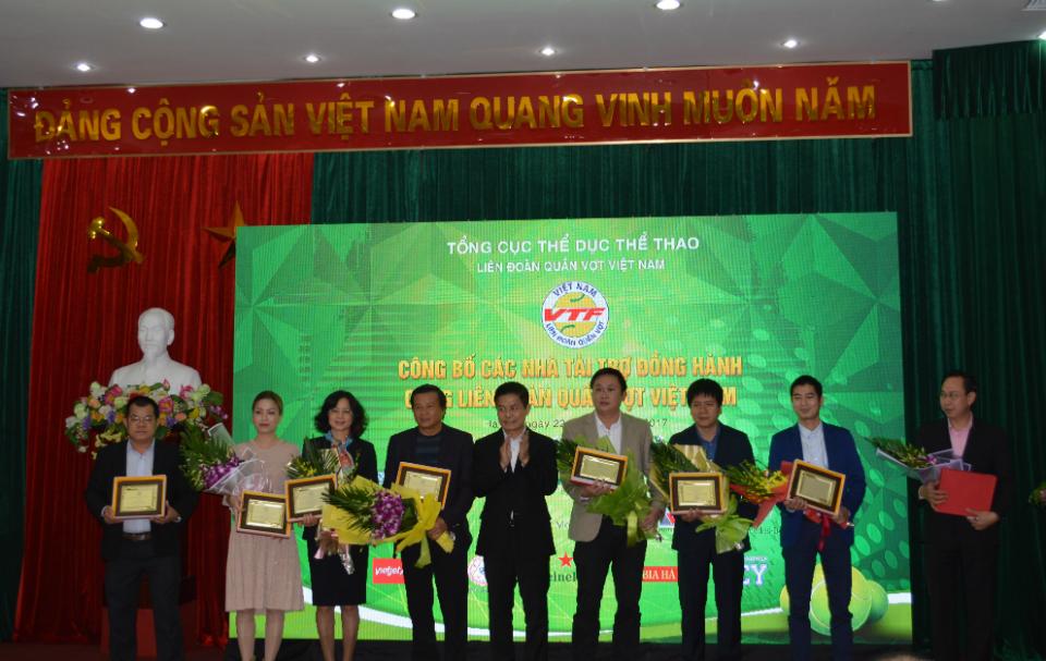 Vietravel đồng hành với các hoạt động của Liên đoàn quần vợt Việt Nam 2017