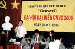 Đại hội công nhân viên chức công ty Vietravel 2006