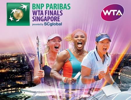 Đến Singapore xem giải quần vợt nữ WTA Finals 2014