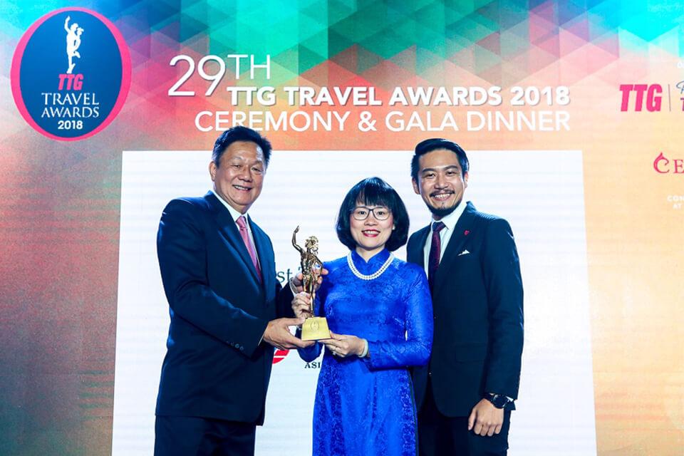 Vietravel tự hào 7 lần đạt giải thưởng TTG Travel Awards
