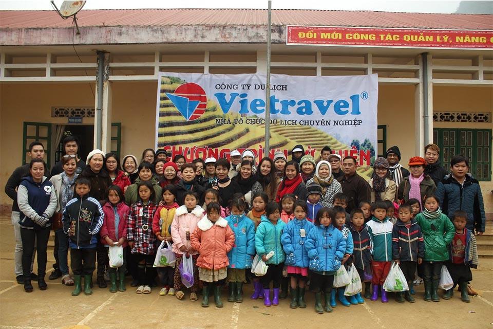 Vietravel MICE phát động chương trình bữa ăn từ thiện cho bệnh nhân nghèo