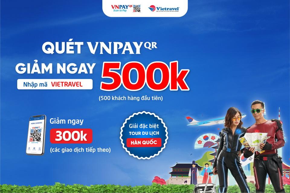 Thể lệ chương trình khuyến mại VNPay QR thu 2019