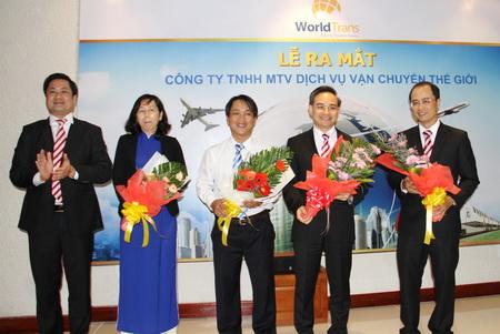 Ra mắt Công ty TNHH MTV Dịch vụ vận chuyển thế giới (WorldTrans)