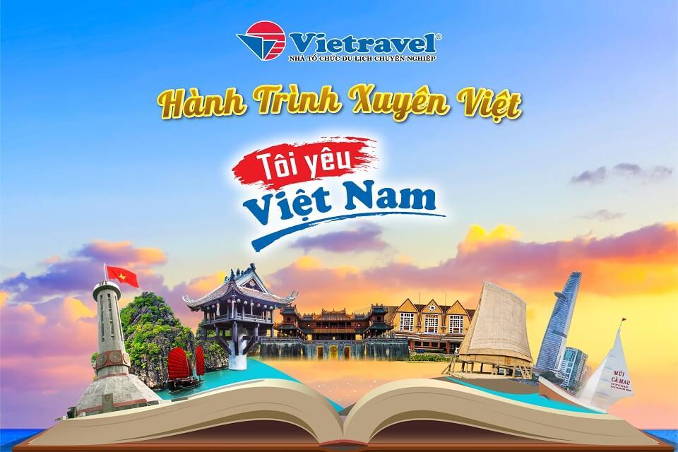"""Hành trình xuyên Việt """"Tôi Yêu Việt Nam"""" lần đầu tiên được ra mắt"""